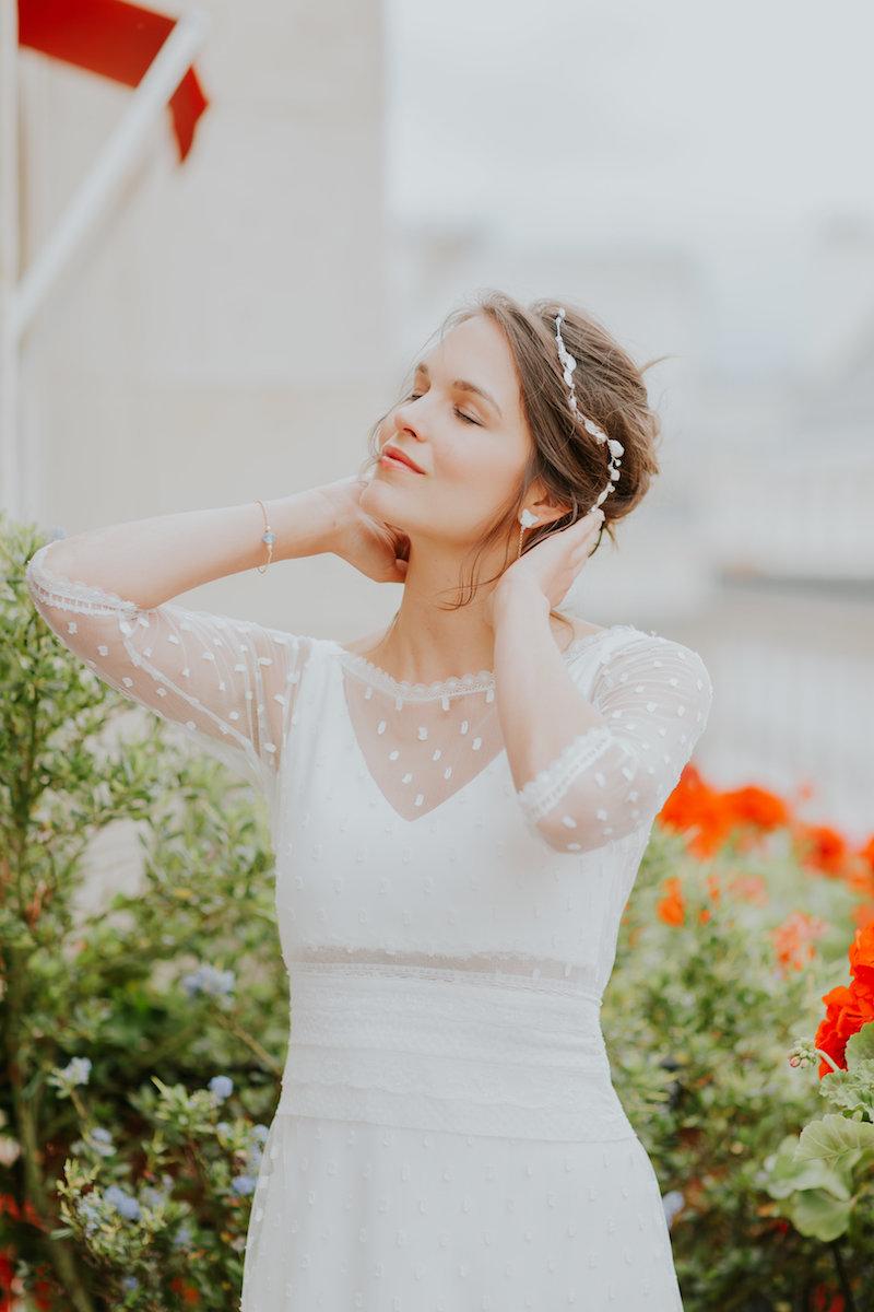 aurelie ensemble elsa gary 2020 robe de mariee perpignan