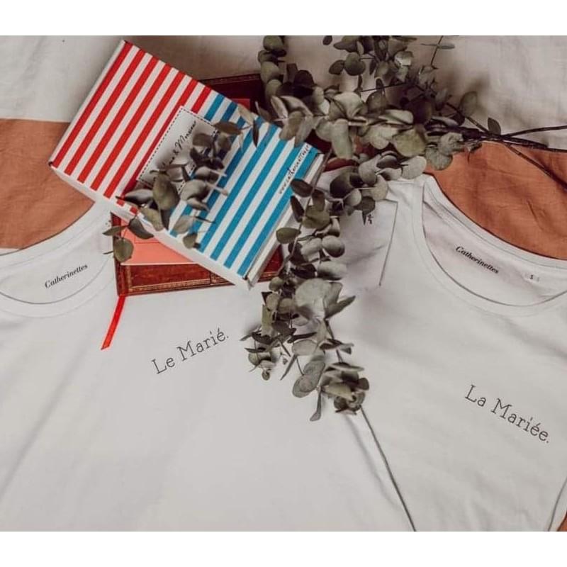 Tee-shirts la Mariée et le Marié