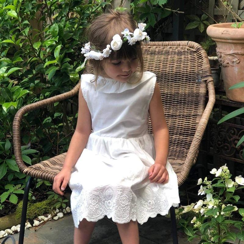 Robe Flora fille