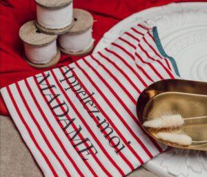 Le Tee shirt Marinière le temps des noces Perpignan