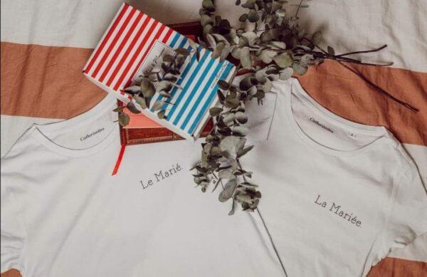 Tee shirts La Mariée et Le Marié Boutique de Mariage Perpignan