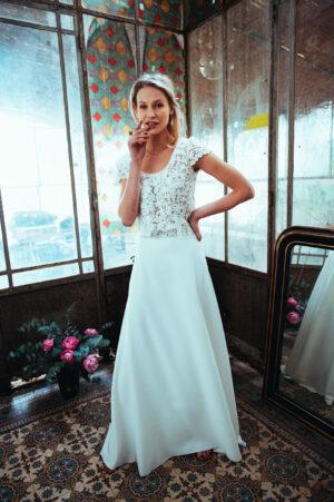 Robe de mariage Elsa Gary collection 2022 Perpignan